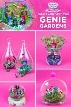 Shimmer and Shine Genie Gardens Craft #kids #gardening