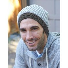 Beanie There, Done (T)hat, #crochet, free pattern, hat, man, #haken, gratis…