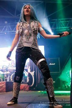 The Agonist, Heavy Metal Girl, Alissa White, Women Of Rock, Arch Enemy, Death Metal, Female Singers, Most Beautiful Women, Hard Rock