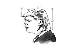 New trending #GIF on #Giphy via #IFTTT illustration donald trump trump new yorker newyorker the donald