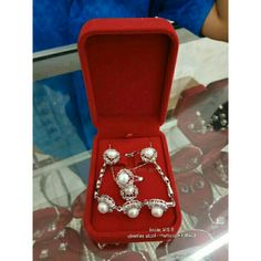 Set mutiara air tawar asli lombok [For sale]  Lombokglam.art@gmail.com
