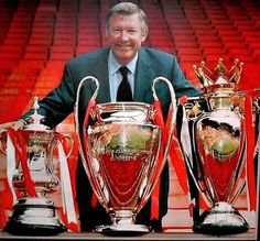 """""""Sir Alex Ferguson after winning the treble with Manchester United, Arsenal Vs Manchester United, Manchester United Old Trafford, Manchester United Wallpaper, Manchester United Legends, Manchester United Football, Aberdeen Football, Manchester City, Man Utd Fc, Liverpool Fans"""