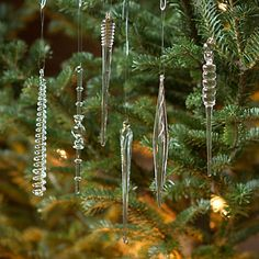 Icicle For Christmas Trees.121 Best Christmas Tree Icicles Images Christmas Ornaments