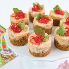 Nacho Cheesecakes