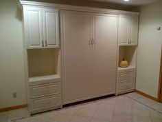 Beautiful cabinetry, Murphy Bed tucked away and hidden