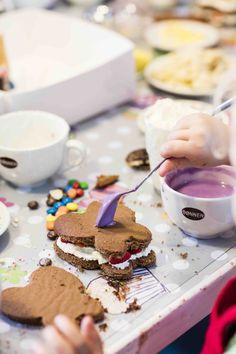 Lad ungerne lave deres egne lagkager med kageudstikkere! #karenvolf #lagkagebunde #børnefødselsdag