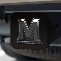 University of Maryland Black Hitch Cover