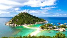 Koh Samui is the gateway into the south of Thailand, nestled close to one of the biggest party islands, Koh Phangan and the laid-back . Best Places To Travel, Vacation Places, Great Places, Places To Visit, Ko Samui, Koh Samui Thailand, Koh Phangan, Best Honeymoon Destinations, Honeymoon Ideas