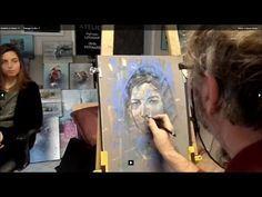 TUTO PASTEL 3: REALISATION D'UN PORTRAIT AU PASTEL - YouTube