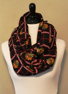 Perfect infinity scarf for a cold winter in Chicago.