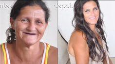 Esta transformação prova que não existe mulher feia! Será se ela mesmo?