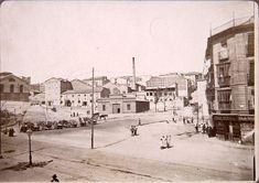 Plaza del Campillo del Mundo Nuevo, hacia 1900. Anónimo. Museo Municipal (Madrid)