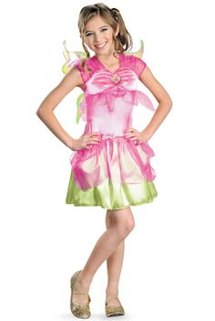 Winx Club Flora Child Costume #halloween #costumes