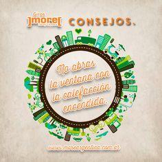 ¡En ]more[ te ayudamos a cuidar el #MedioAmbiente y también tu Economía!  #more #Consejos ➘