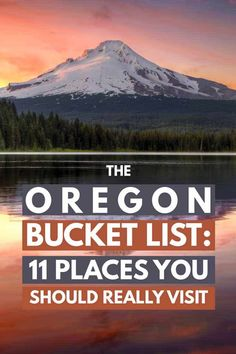 Travel Bucket List:Oregon is one of our favorite US states to visit. The combination of a gorgeous coastline, mountains, forests and deserts is hard to beat. Throw in the cultural urban center and the state becomes the perfect destination for travelers. Oregon Vacation, Oregon Road Trip, Oregon Travel, Travel Usa, Travel Tips, Travel Ideas, Oregon Coast Roadtrip, Travel Goals, Travel Inspiration