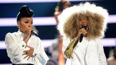 Performance - Janelle Monáe and Erykah Badu Shut It Down | 2013 BET Awards Performances