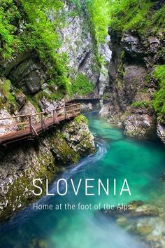 SLOVENIA Home at the foot of the Alps It's funny how you don't always give credit to it... ...until you're many miles away and realize, home is a beautiful place... With its snow covered mountains and rolling hills... ...turquoise rivers and mountain