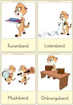 Ordnungsdienst klassenzimmer  Zaubereinmaleins - DesignBlog   Klassenzimmer   Pinterest ...