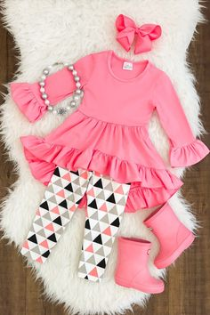 US Kids Baby Girl Clothes Toddler Long Sleeve T-shirt TopsPants Leggings Outfit Toddler Girl Outfits baby clothes girl kids Leggings Long outfit Sleeve Toddler TopsPants TShirt Baby Outfits, Little Girl Outfits, Toddler Girl Outfits, Little Girl Fashion, Kids Fashion, Cute Outfits, Toddler Girls Clothes, Toddler Fashion, Legging Outfits