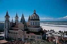 Ilheus Bahia Brasil. Nice building by the beach.