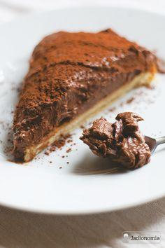 Ciasto dla Anny, czyli wegańska czekoladowa tarta » Jadłonomia · wegańskie przepisy nie tylko dla wegan