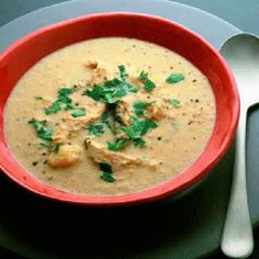 This soup recipe is a quick and easy meal, using up turkey leftovers.