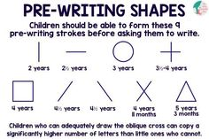 Pre-Writing Skills: Tracing Lines | Liz's Early Learning Spot