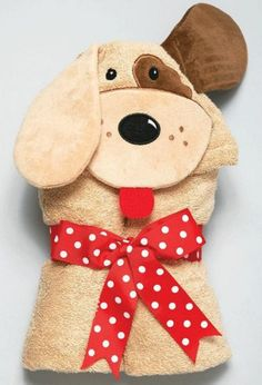 Woof, woof, says Puppy Tubbie, come snuggle with me. Our Puppy Tubbie is a favorite snuggly towel for both boys and girls. This 100 % Cotton Terry Cloth Towel measures x and is machine washable and dryable. Kids Hooded Towels, Hooded Bath Towels, Embroidery Store, Baby Embroidery, Embroidery Ideas, Am Pm, Baby Towel, Personalized Baby Gifts, Handmade Gifts