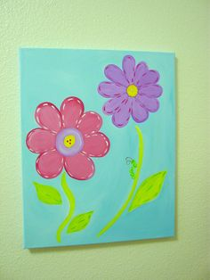 original canvas painting artwork 16x20 with by kryshasCreations