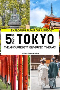 """A Tokyo itinerary that will blow your mind! We have gathered the most affordable options to make sure you don't break the bank. Get the best out of your trip to Japan with the guaranteed best experiences (all tested by us!) in Tokyo! From Diver City Tokyo Plaza with its Gundam to the Shibuya Crossing, from the arcades in Tokyo to the anime district, but also """"Cat Town"""", Ghibli Museum, Senso-ji temple, Meiji Jingu and much more!"""
