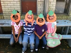 Students create masks to dress like Leprechauns on St. Patrick's Day.