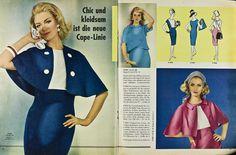 """1960s Fashion. """"Neuer Schnitt"""" 07.1963"""