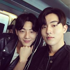 There is a new bromance in K-town, whether it was created from reel to real or vice-versa it doesn't matter because both are just so sweet together. Rising actors Nam Joo Hyuk and Ji Soo have been gallivanting from drama … Continue reading → Korean Star, Korean Men, Korean People, Asian Actors, Korean Actors, Ji Soo Nam Joo Hyuk, Nam Joo Hyuk Selca, Scarlet Heart Ryeo Cast, Ji Soo Actor