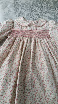 Socked baby dress fits size 6 to 12 months by jeanetteodonnell