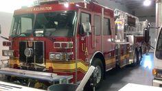 Upper Arlington Fire Truck Graphics (Sutphen Fire Trucks)