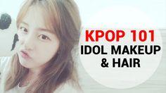 Kpop 101 : Kpop Idol Makeup and Hair Experience by Kasper (캐스퍼)  #kpop #kasper #wishtrendtv #hairstyling #kpop101 #wishtrend