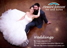 Howard Johnson Inn & Suites of Vallejo is the perfect hotel for Weddings and your big moment