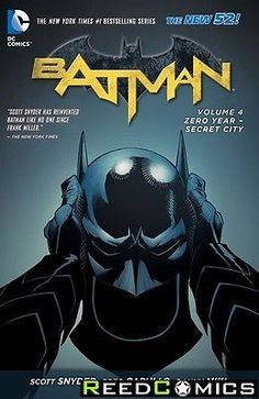 Batman volume 4 zero year secret city graphic #novel new #paperback #collect #21-,  View more on the LINK: http://www.zeppy.io/product/gb/2/291345010186/