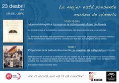 23 de abril: Día del Libro en el #MuseodeAlmería. Exposición bibliográfica y proyección de documental.