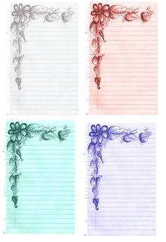 Free-printable  Journal Cards