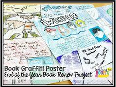 Book Graffiti Poster