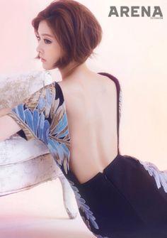 Kim Yu Ri Arena Homme+ Korea Magazine November Issue '13