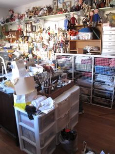 Mimi Kirchner's studio  omg, holy ground!