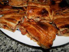 Empanada de zorza Ver receta: http://www.mis-recetas.org/recetas/show/41036-empanada-de-zorza