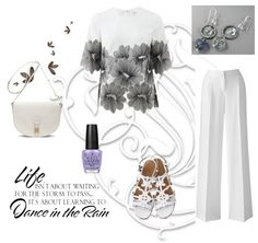 Dance in the rain - Outfit inspiration from Jewelry Designer Blog. Jewelry by Natalia Khon
