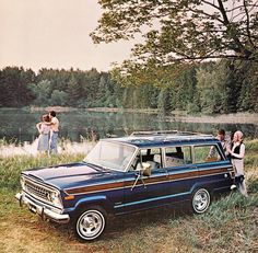 Jeep Wagoneer. So awesome!