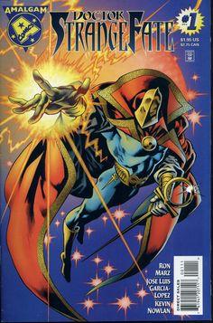 Amalgam Comics - Doctor StrangeFate                                                                                                                                                                                 More