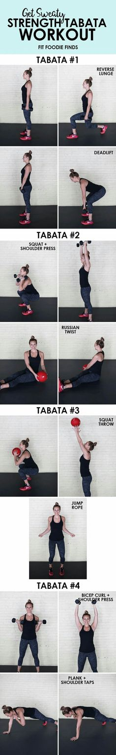 Tabata strength workout routine