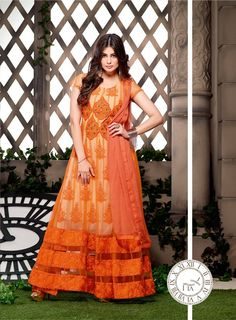 Designer Partywear Anarkali Salwar Suit 12008PG
