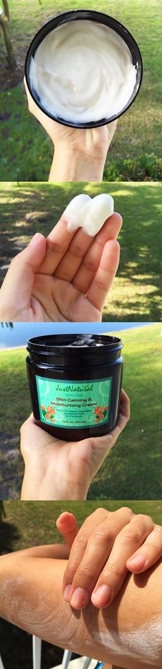 Skin Calming Moisturizing Cream | Tanning Skin Helpers | Just Nutritive